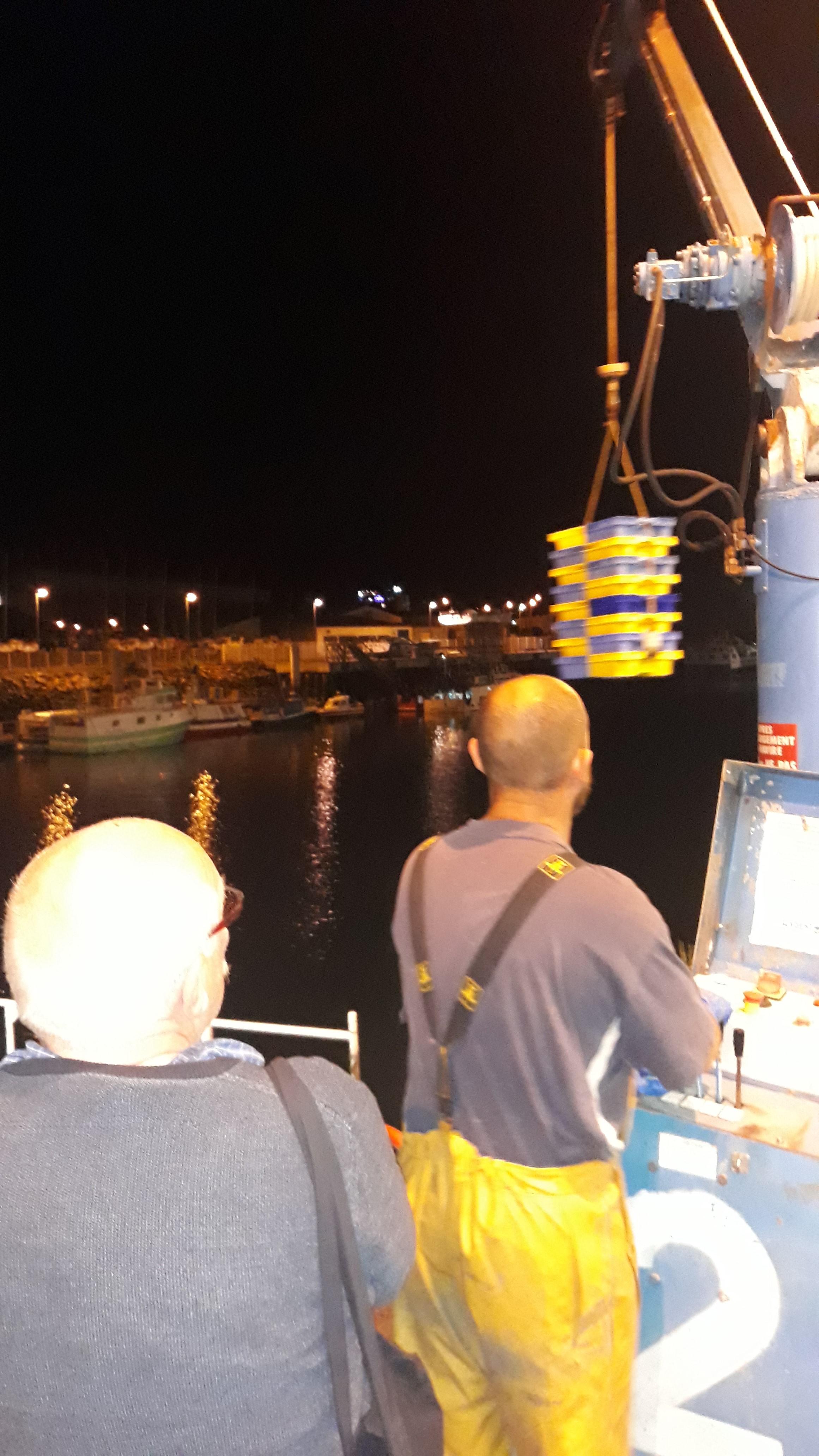 1h00 du matin...les premières débarques!!!