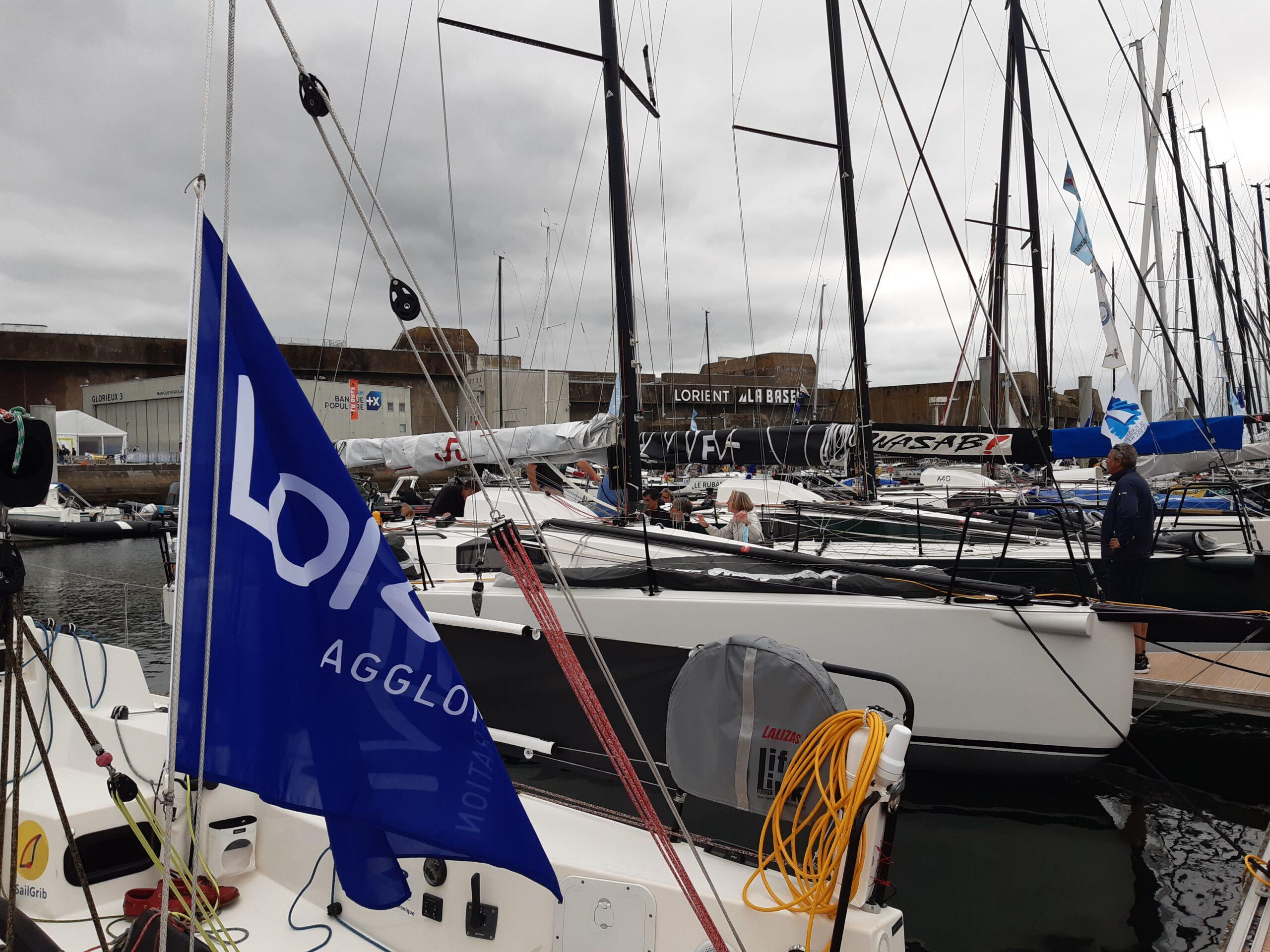 Préparatifs de départ à Lorient La Base